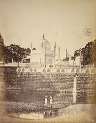 General view of the Bibi-ka-Maqbara, Aurangabad